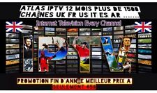 ******ABONNEMENT ATLAS IPTV + 1700 Channels 12Mois FR EN US IT ES******