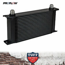 Proflow Auto Transmission Oil Cooler 19 Row 330 x 140 x 50 -10AN Fittings New