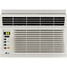 LG LW6011ER 6,000 BTU Window Air Conditioner Cools 150 sq. ft. rooms Remote