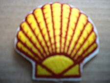 SHELL OIL EMBLEM IRON ON  CLOTHING PATCH
