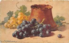 BG33561 grapes fruits catharina klein  nice artist signed