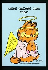 Comics postcard Garfield Cat Jim Davis WW Angel Costume