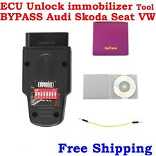 OBD2 Diagnostic For BYPASS Audi Skoda Seat VW ECU Unlock Immobilizer Tool