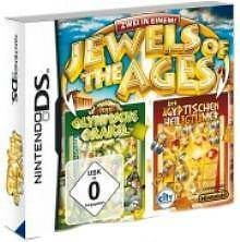 Nintendo DS 3ds Jewels of the Ages 2 juegos 1 precio utilizada