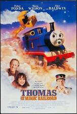 THOMAS AND THE MAGIC RAILROAD - 27X40 D/S Original Movie Poster One Sheet 1999