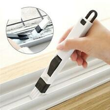 2-in-1 Multipurpose Folding Corner Nook Cranny Window Groove Cleaning Tool Brush