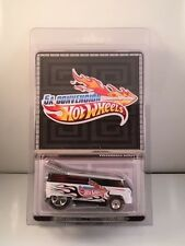 HOT WHEELS COLLECTORS 5TH MEXICO CONVENTION VW DRAG BUS 4000 VOLKSWAGEN