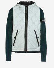 STONE ISLAND forest green THERMO SENSITIVE-J KNITTED JACKET - SIZE M - RRP 930€