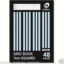 2 Pack Olympic Grid Book 7mm 48 Page - AO140791