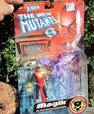 1998 TOY BIZ Marvel Comics X-Men New Mutants Magik W/Lockheed Dragon MOC