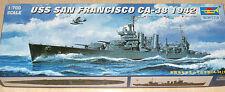 "Trumpeter 05746  U.S. Kreuzer ""USS  San Franzisco  CA-38""  (1942) Kit  1:700"