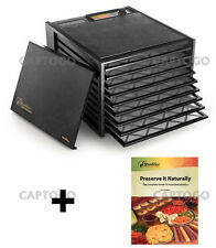 Excalibur 9 Tray 3900 Excaliber Food Dehydrator ED3900, black or white, ED-3900