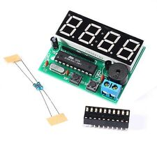 Popular C51 4 Bits Digital Electronic Clock Electronic Production Suite DIY Kits