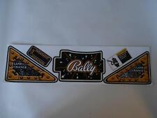 Theatre of Magic Pinball Apron Decal Set Hard To Get : Mr Pinball Does It Again