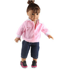 Fashion Handmade New clothes dress for 18inch American girl doll party  b455