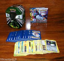 Serperior Pokemon Trading Card Game Tin Box With 151 Trading Cards **READ**