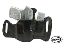Ruger LCP RED Crimson Trace Laser OWB w/Attached Mag Holster R/H Black 0161