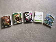 5 Wii Games: Avatar, Madagascar 2, Just Dance 2, Wii Fit, Sonic Color E-Everyone