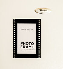 acrylic 4 x 6 sign display holder picture frame magnet hollywood film frame 4x6