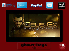 Deus Ex Human Revolution Steam Key Pc Game Download Code Neu Blitzversand