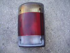 92-93-94-95 Drivers Side Rear Taillight Ford E 250 Van