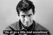 MOVIE QUOTE FRIDGE MAGNET - ANTHONY PERKINS in the film PSYCHO