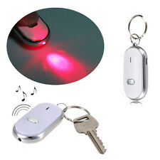 Hot Sale LED Light Torch Key Finder Lost Locator Whistle Sound Control Keychain