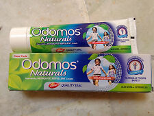 3X100GM NEW DABUR NATURAL ODOMOS MOSQUITO REPELLENT CREAM Free shipping