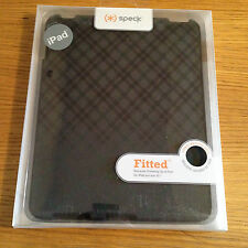 NEW SPECK APPLE iPad 1 Fitted Fabric Wrapped Shell Protective Hard Case A02A018