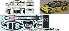 "1/43 Decal BMW 320d ""Black Falcon"" VLN 2010"