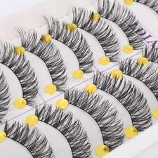 Thick False Eyelashes Fake Black Eye Lashes Eye Enlarge Party Wedding Makeup E53