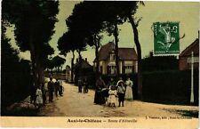 CPA  Auxi-le-Cháteau - Route d'Abbeville   (220305)