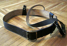 Soviet Russian Army Officer Leather Belt with Shoulder Strap PORTUPEYA NEW