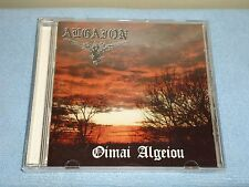 Algaion - Oimai Algeiou, Album - CD, 1995 Full Moon Prod. Swedish Black Metal.