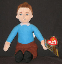 TY TINTIN the BEANIE BABY - MINT TAGS (THE ADVENTURES OF TINTIN)