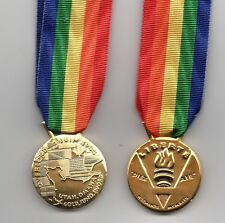 FRANCE OVERLORD MEDAL 6TH.,JUNE 1944 - MINIATURE MEDAL