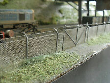 OO Gauge Chain Link Security Fencing & Gate For Model Railways / War Gaming