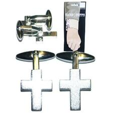 Cross Cufflinks Religious Christian Vicar Cruise Party Formal Present Gift Box