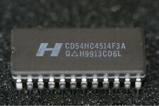 CD54HC4514F3A Harris 4-to-16-Line Decoder/Demultiplexer with Input Latches