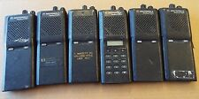LOT OF 6, Motorola Radius P1225 Two Way Radios P94ZRC/P94ZRD/P93ZRC @Sri