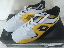Lotto Football Boots Fuerza Pura Size 5 UK New Yellow / White