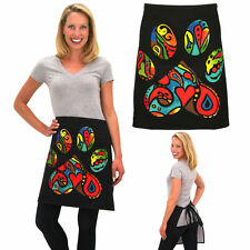 Contemporary Colorful Paw Print Waste Apron - Large Paw Print Apron - Dog Love