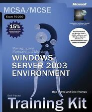 MCSA/MCSE Self-Paced Training Kit (Exam 70-290): Managing and Maintaining a Micr