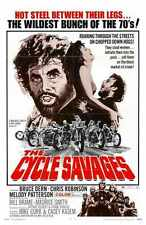 CyclE Savages Poster 01 Metal Sign A4 12x8 Aluminium