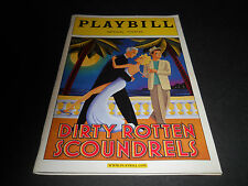 MARCH 2005, PLAYBILL - DIRTY ROTTEN SCOUNDRELS, IMPERIAL THEATRE, JOHN LITHGOW
