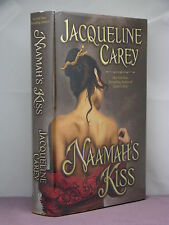 1st, signed by author, Moirin Trilogy 1:Naamah's Kiss by Jacqueline Carey (2009)