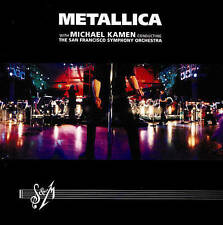 Metallica - SM with the San Francisco Symphony Orchestra (DVD, 2014, 2-Disc Set)