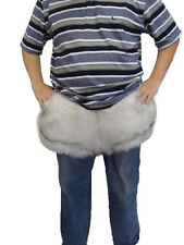 BRAND NEW DOUBLE SIDED NORWEGIAN (BLUE) FOX FUR BRIEF UNDERWEAR MAN MEN