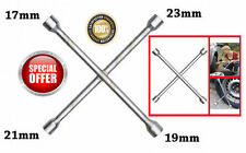 4 Way Wheel Wrench 17, 19, 21 & 23mm WRENCH