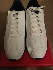 Men's Puma White/Blue Turin Sneakers Size 8.5 Very Nice!!!